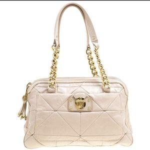 Marc Jacobs Ines Blush Pink Leather Chain Handbag